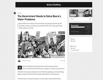 Kulchural Blog