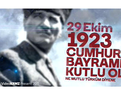 29 ekim 1923 Cumhuriyet Bayramı(2015)
