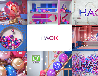 HAOK TV Idents - Taiwan Channel Branding