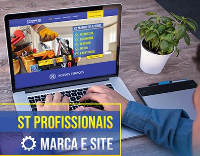 ST Profissionais | Marca e Site