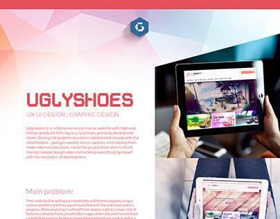 Uglyshoes - Ecommerce | UX UI project