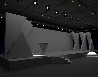Projection Mapping Stage Concept
