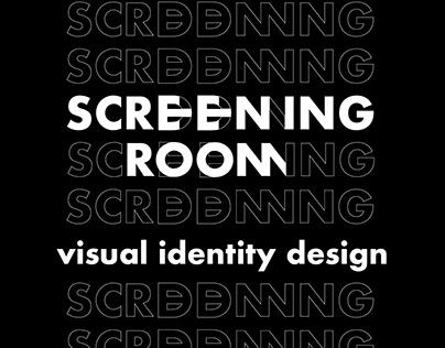 Screening Room - Visual Identity Design