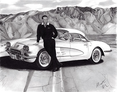 Glenn and his 1958 Corvette