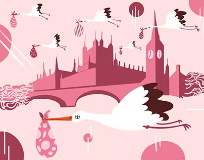 White Storks Nesting in Britain
