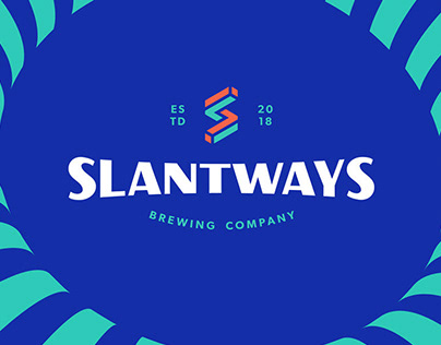 Slantways Brewing Company - Branding
