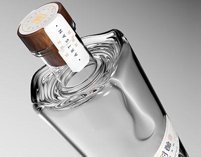 ARTISAN匠心时酿白酒产品包装设计