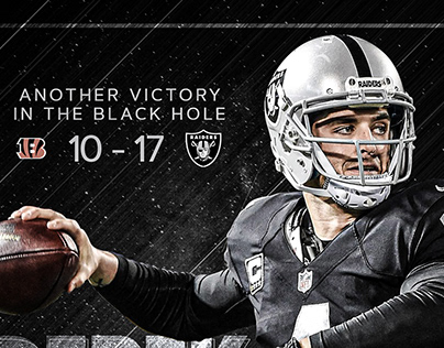Oakland Raiders social media posts