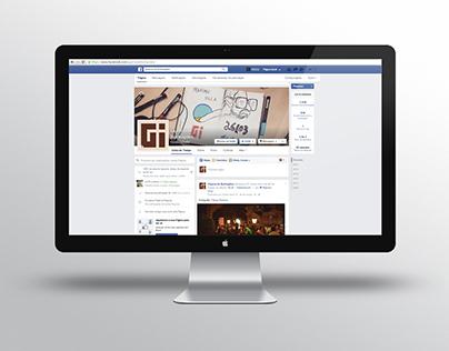 Postagens Facebook — Guerra de Ilustrações