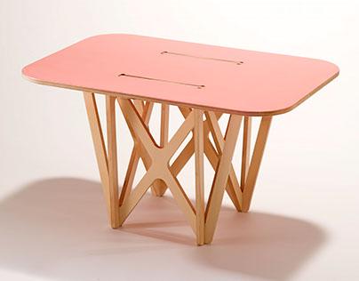CNC coffee table