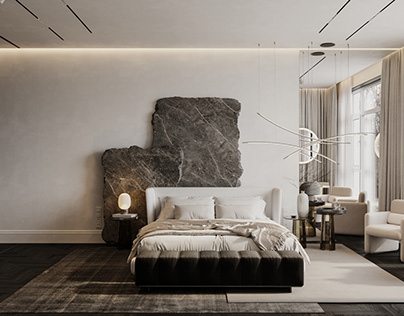 "MASTER BEDROOM. ""GRAY MARBLE"""
