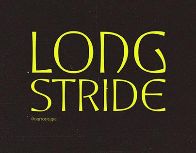 Longstride Font