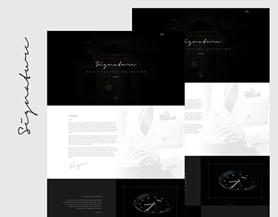 Signature: Flat Template Design