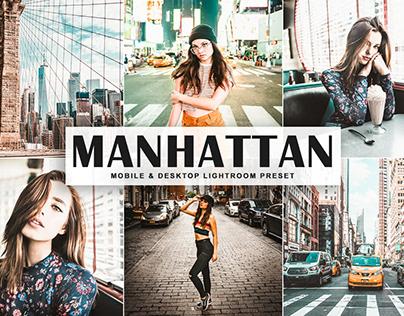 Free Manhattan Mobile & Desktop Lightroom Preset