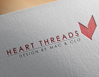 Heart Threads - Logo Design