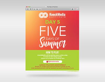 KnockMedia: E-Blast Layout