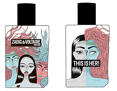 Zadig&Voltaire Parfume. Design competition.