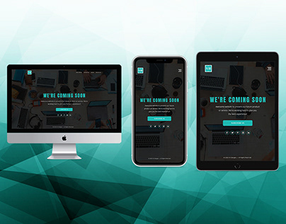 VH Designs - Coming Soon PSD Website Template