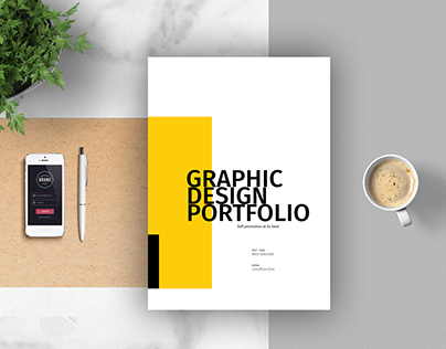 Graphic Design Portfolio Template On Behance