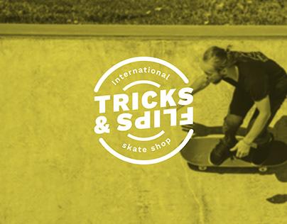 Daily Logo Challenge #23 Tricks & Flips