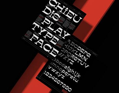 Chieu Display Typeface (Close-up)