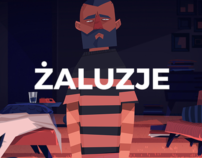 """Żaluzje"" trailer & short animation design"