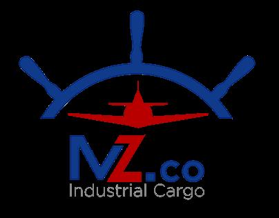 MZ.Co Industrial Cargo Logo Design