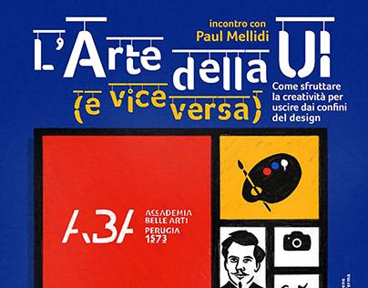 L'Arte della UI - Poster e videoconferenza / 2020