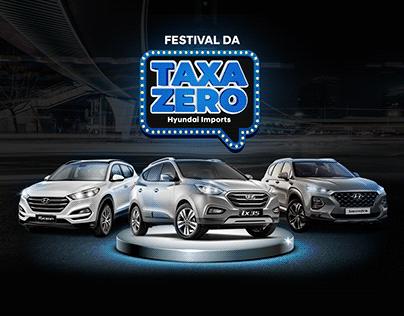 Campanha Festival Taxa Zero - Hyundai Barigui Imports