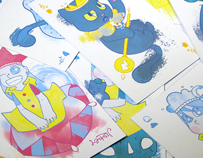 Nube & Pluc Set of Artistic Playing Cards