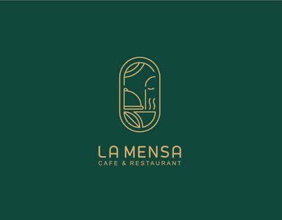 LA MENSA Identity Design