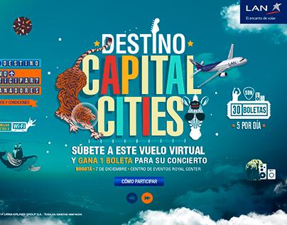 LAN, Destino Capital Cities