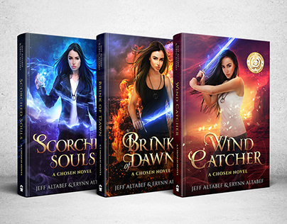 The Chosen Series Cover art & Design