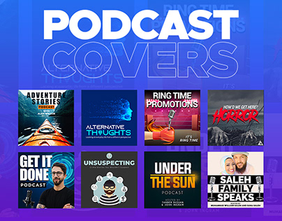 Podcast Cover Designs