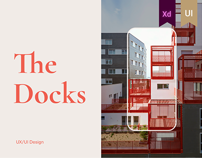 THE DOCKS Website concept