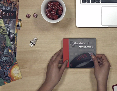 Gameband + Minecraft, play everywhere