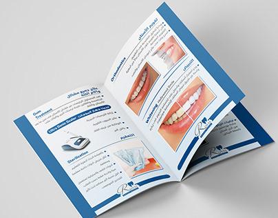 brochure and Flyer Dr Alaa Elkattan Dental