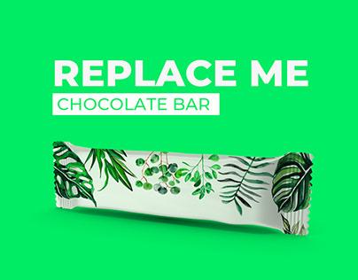 Chocolate Bar Mockup   Replace me