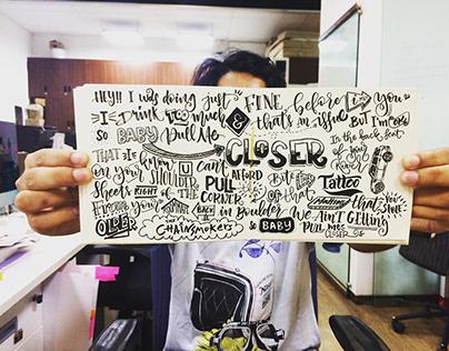 Calligraphy IV