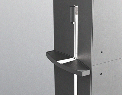 ASA_Water Purifier_Ando Tadao Hommage