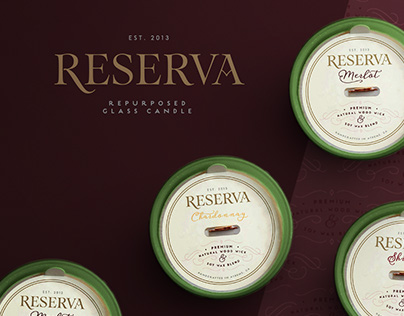 Reserva | Wine Bottle Candle Collection
