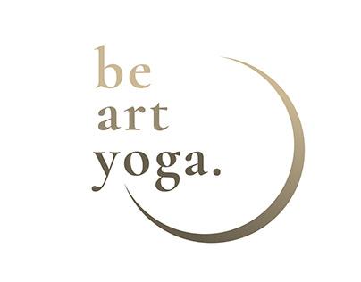 Be Art Yoga. Diseño Identidad Corporativa.