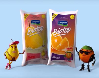 Pera vs. Naranja. Elecciones Biotop. TV y web.
