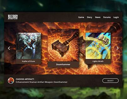 Choose Artifact World of Warcraft