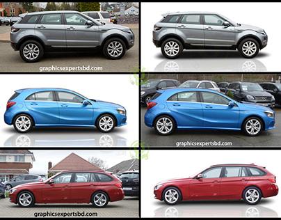 Photoshop car reflection effect | Vehicle Shadow