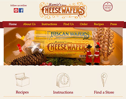 Mamie's Wafers Web Development