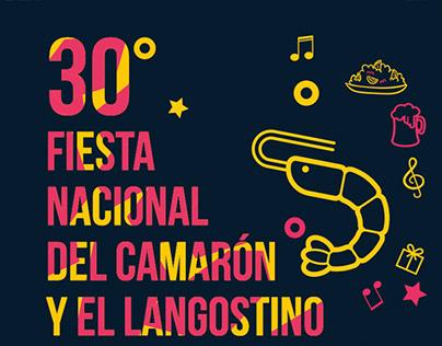 Design 30° Fiesta Nacional del Camarón y el Langostino