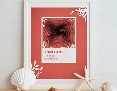 Layered Pantone Series