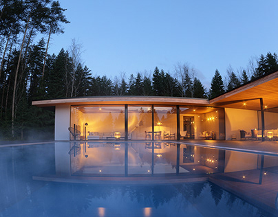 Spa house by KA2 Light Architecture