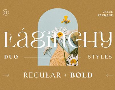Laginchy - Quirky Serif (Regular & Bold)